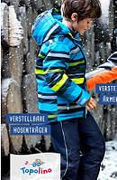 """ТЕРМОкомбинезон TOPOLINO - это самый тёплый из всего модельного ряда.""""Синий в жёлтую полоску"""""""