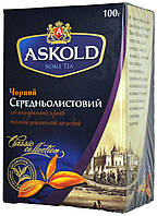 """Чай черный Аскольд """"Средний лист"""" (FBOP) 100г."""