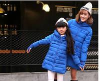 Куртка пальто для девочек на пуху