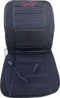Автомобильная накидка на сиденье с подогревом Сarex чёрный цена
