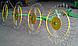 """Грабли-ворошилки """"Солнышко"""" ГВН-5 (5-колес; Украина), фото 2"""