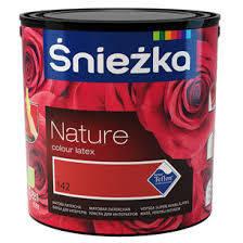 Цветная моющаяся краска Sniezka Nature 5л – для стен.