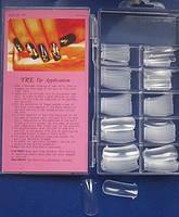 Верхні силіконові форми для нарощування нігтів 100шт.