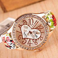 Изысканные женские часы со стразами Spring