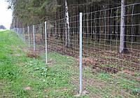 Сетка Фермерская,пров. 1,8мм, ширина яч 150мм, оцинкованная, 1х30м