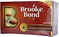 Чай чёрный Брук Бонд 50п