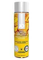 Интимный лубрикант JO, H2O Lubricant Lemon Splash, 120 мл