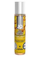 Интимный лубрикант JO, H2O Lubricant Lemon Splash, 30 мл