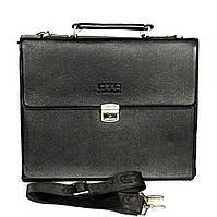 Чоловіча сумка папка під документи з ключиком (7941А)