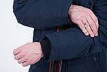 Чоловіча зимова куртка, синього кольору., фото 7