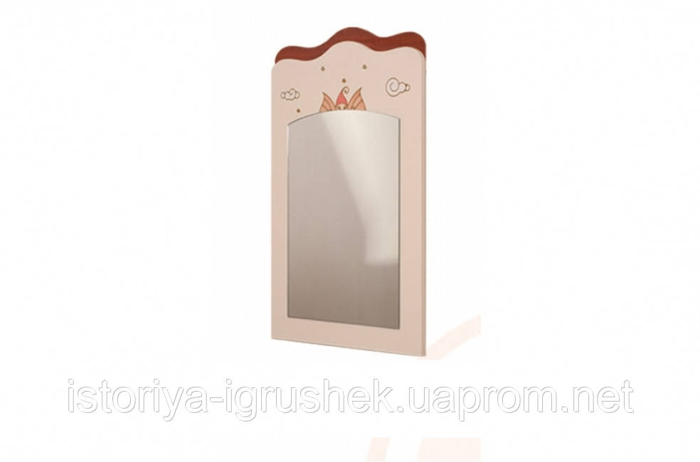 Зеркало «Феи в облаках» крем+ яблоня шоколад