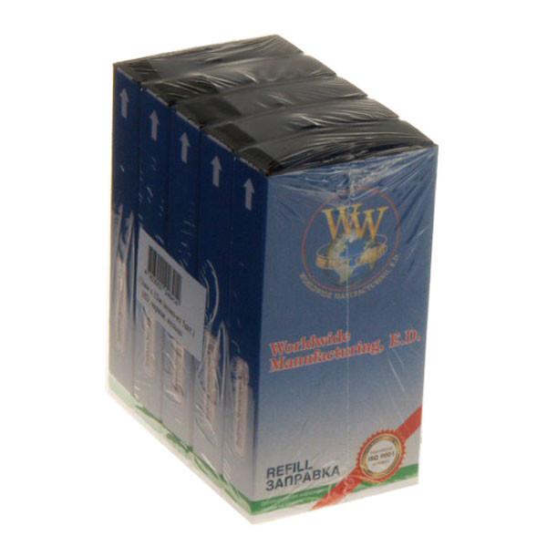 Лента красящая комплект 5шт WWM 13мм х 12м STD правый Refill Black (R13.12SR5)