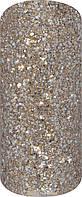 Лак для ногтей. Лак The Colors Glitter Riffic Silvery Gold, 7.5 мл. Для маникюра и для педикюра.