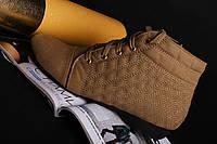 Ботинки женские на шнуровке