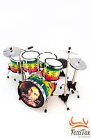 Сувенир барабанная установка Bob Marley