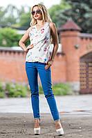Яркие эффектные брюки, контрастные вставки на карманах и подворотах, стильный принт РАЗНЫЕ ЦВЕТА!