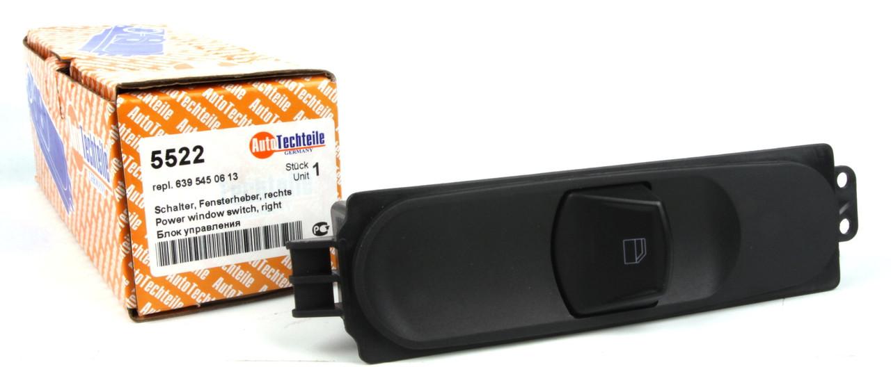 Кнопки стеклоподъемника мерседес вито 639 / Vito c 2003 Германия Autotechteile A5522 (Правая)