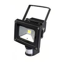 Светодиодный прожектор 10Вт с датчиком движения