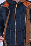 Чоловіча зимова куртка, чорного кольору., фото 4