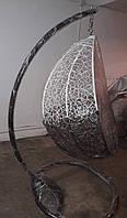 Плетеные качели кокон, подвесное кресло кокон, детская качель для дома