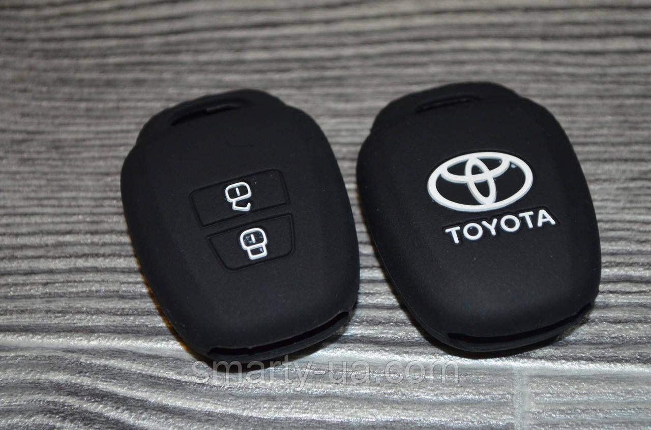 Силіконовий чохол на ключ Toyota. ВСІ КОЛЬОРИ В НАЯВНОСТІ!