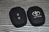 Силіконовий чохол на ключ Toyota. ВСІ КОЛЬОРИ В НАЯВНОСТІ!, фото 1
