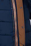 Чоловіча зимова куртка синього кольору., фото 6