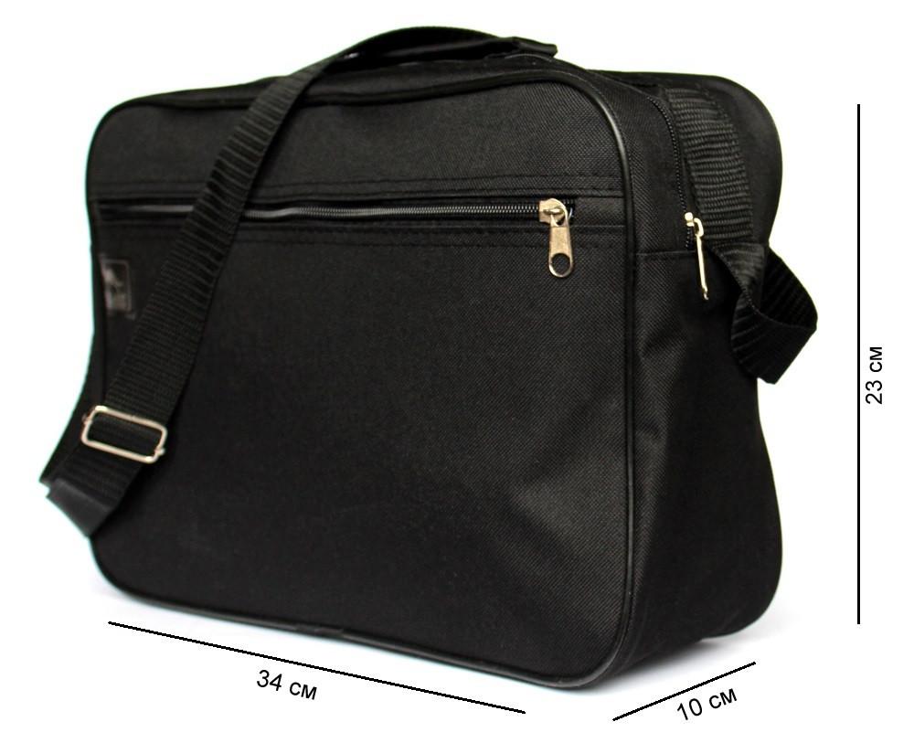 Чоловіча повсякденна містка сумка під формат А-4 (W-2600)