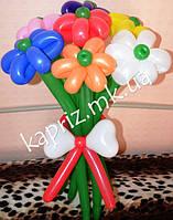 Букет из шаров разноцветный