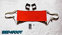 Подарок сотрудникам гамак для ног (оранжевый) - bed4foot