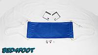 Офисный гамак для ног (светло-синий) - bed4foot