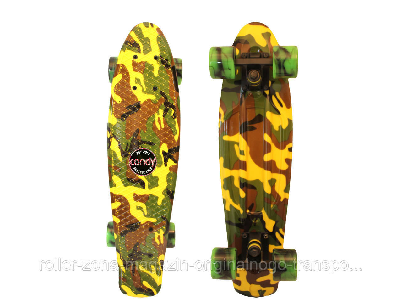 "Penny Board Candy 22"" Camo"