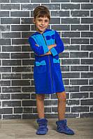 f97c655b7dc87 Махровый детский халат на молнии Лилии, цена 377 грн., купить в ...