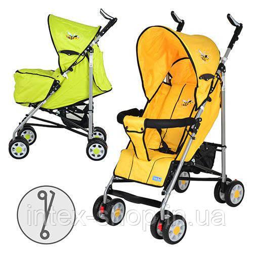 Дитяча коляска-тростина BAMBI (ARIA S1-3), G (Зелений)