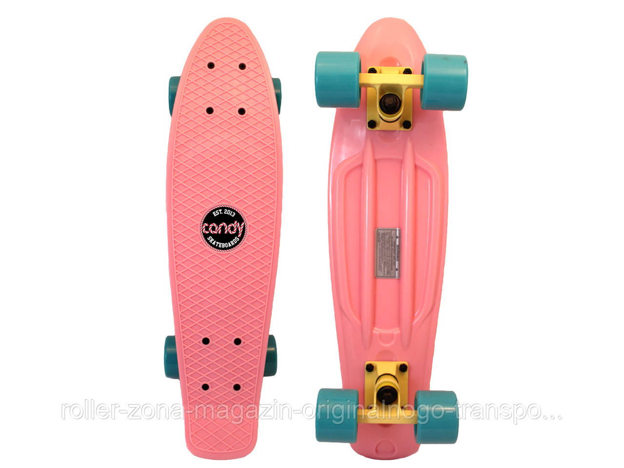 """Penny Board Candy 22"""" Pastel Pink"""