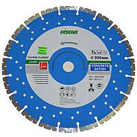 Круг алмазный Distar 1A1RSS/C1-W Classic Plus LS50F 300 мм сегментный отрезной диск по бетону, Дистар, Украина