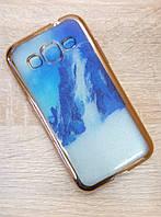 Силиконовый чехол Nature Gold для Samsung G360