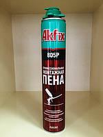 Пена монтажная Akfix 300 мл, 18 л, всесезонная