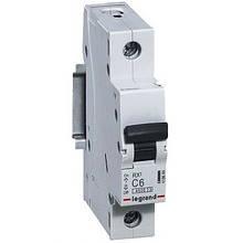 Автоматичний вимикач Legrand RX3 -1P 6А, З