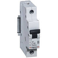 Автоматический выключатель Legrand RX3 - 1P 16А, С