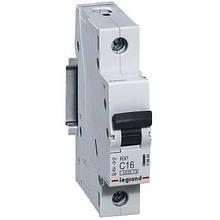 Автоматичний вимикач Legrand RX3 -1P 20А, З