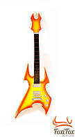 Деревянная статуэтка гитара 23 см
