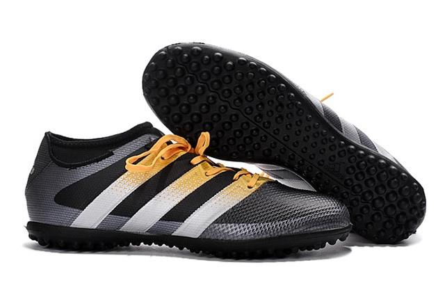 Футбольные сороконожки adidas ACE 16.3 TF Core Black/Solar Yellow/White