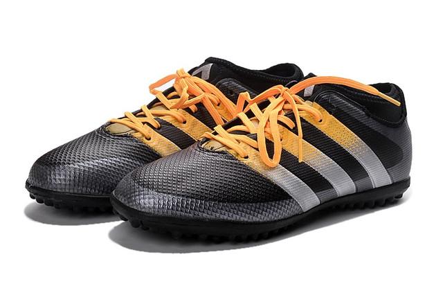Футбольные сороконожки adidas ACE 16.3 TF Core Black/Solar Yellow/White