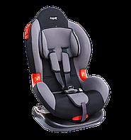 """Детское авт. кресло SIGER """"Кокон"""" ,1-7 лет, 9-25 кг, группа 1,2 (серый)"""