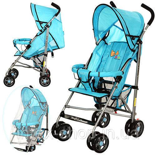 Детская коляска-трость BD102-3-4 B (Голубой)