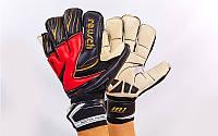 Перчатки вратарские REUSCH (черный-красный-белый)