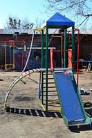 Комплекс Башенка с горкой спортивно-игровой для детей
