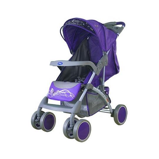 Коляска прогулочная Bambini King violet