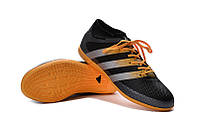 Футзалки (бампы) adidas ACE 16.3 IC Core Black/Solar Yellow/White